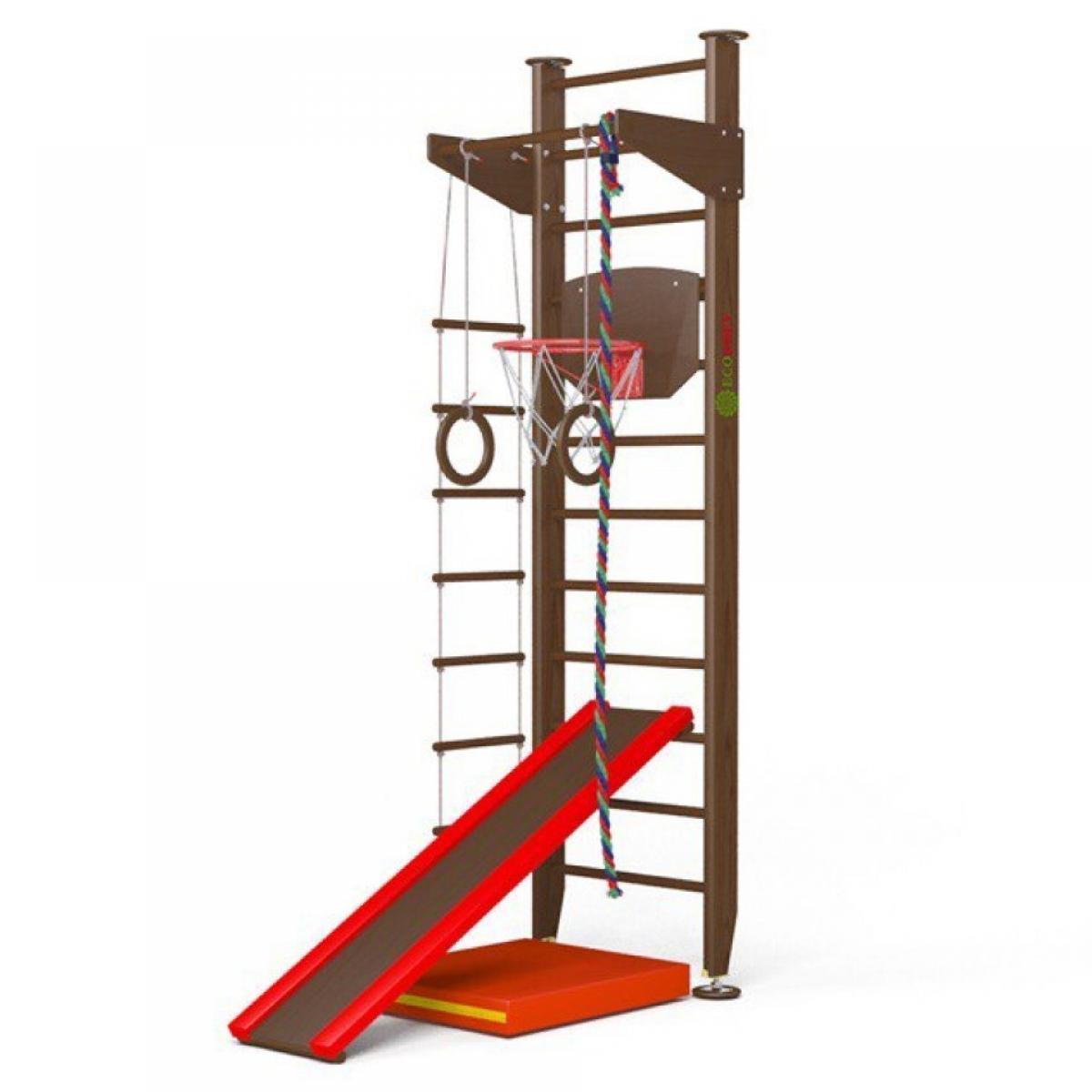 Детский спортивный комплекс Крепыш 01 враспор (лак)