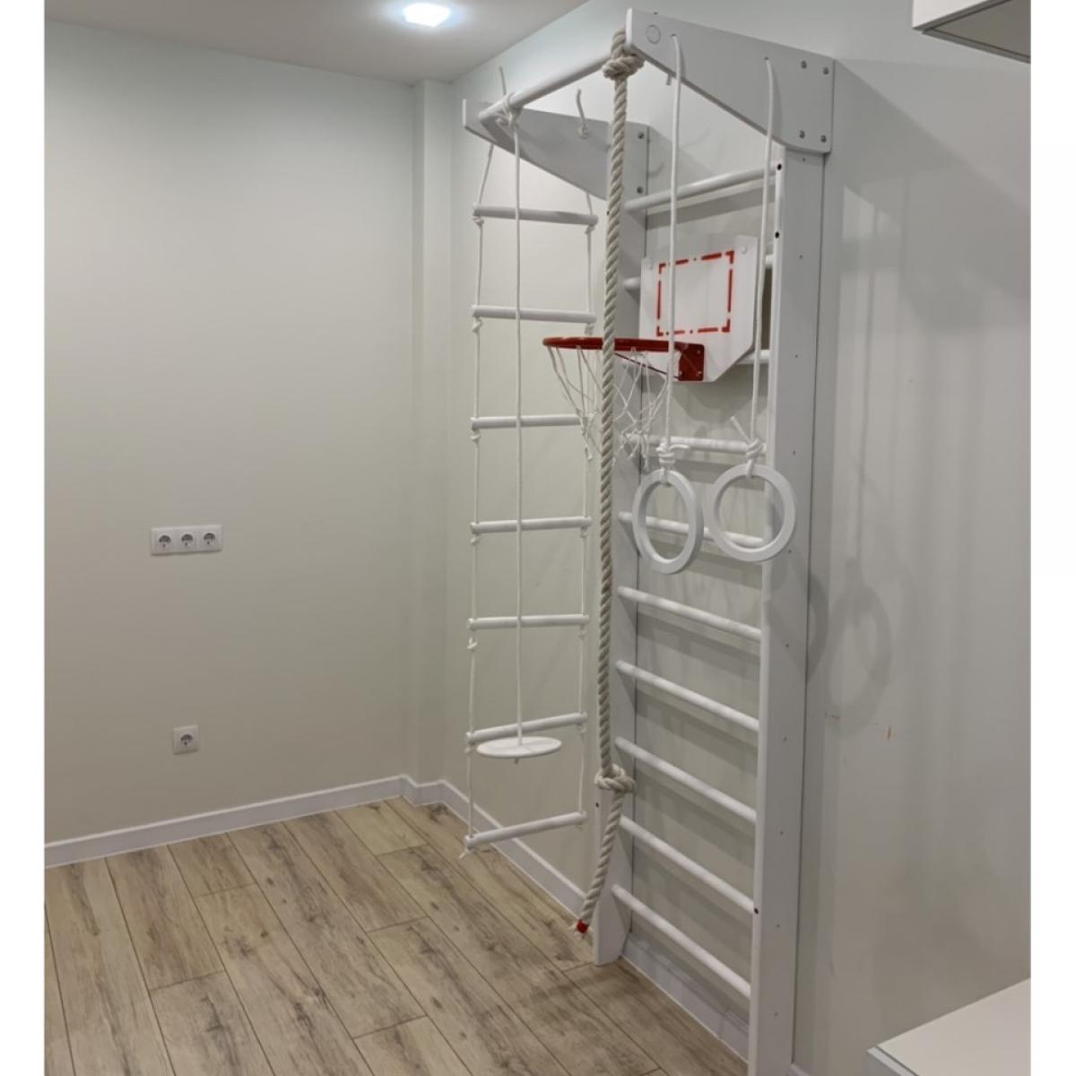 Детский спортивный комплекс Крепыш 01 (Белый)