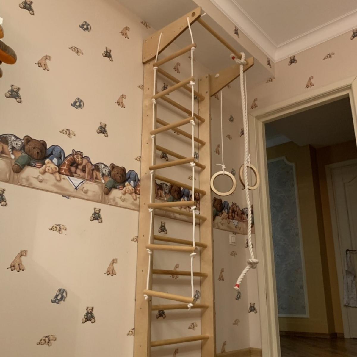 Шведская стенка Крепыш 01 Малыш
