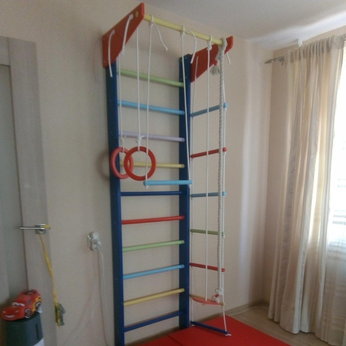Детский спортивный уголок Крепыш 01 Малыш