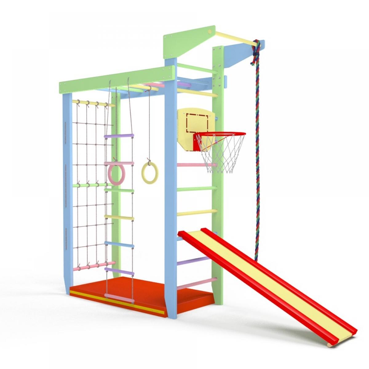 Детский спортивный комплекс Крепыш 02