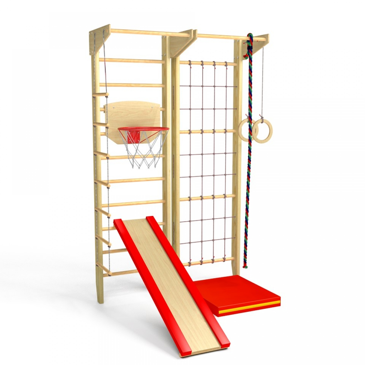 Детский игровой комплекс Крепыш 03 (лак)