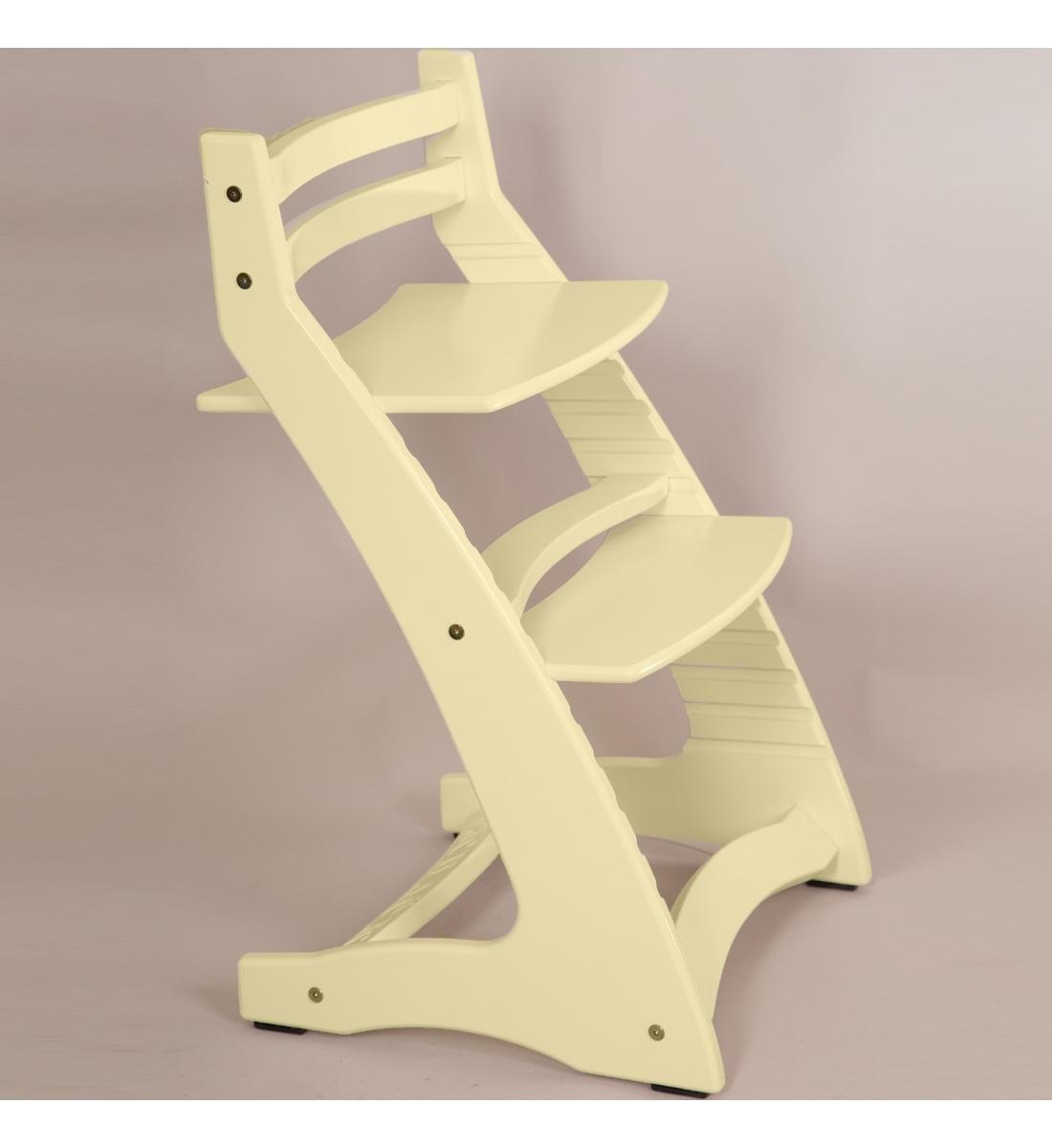 Детский регулируемый стул «ВАСИЛЁК» ВН-01 (Слоновая кость)