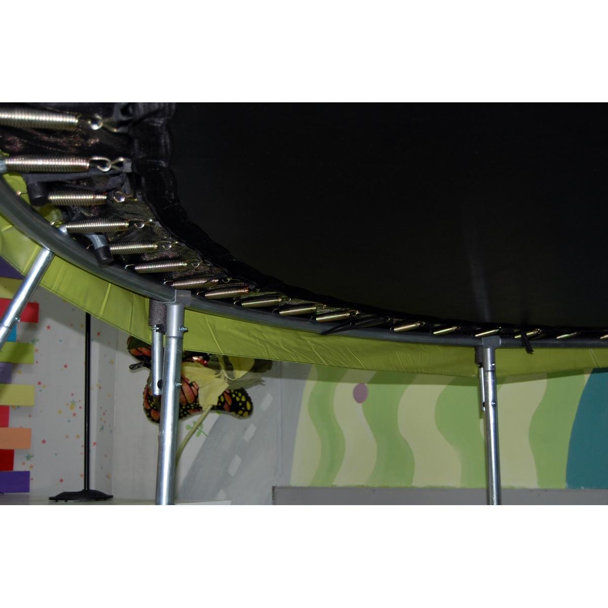 Батут Atlas Sport 312 см Мастер с внутренней сеткой и лестницей на 8 стоек