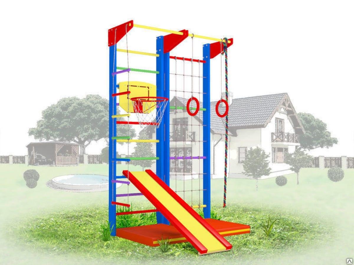 Детский уличный спортивный комплекс Крепыш 03