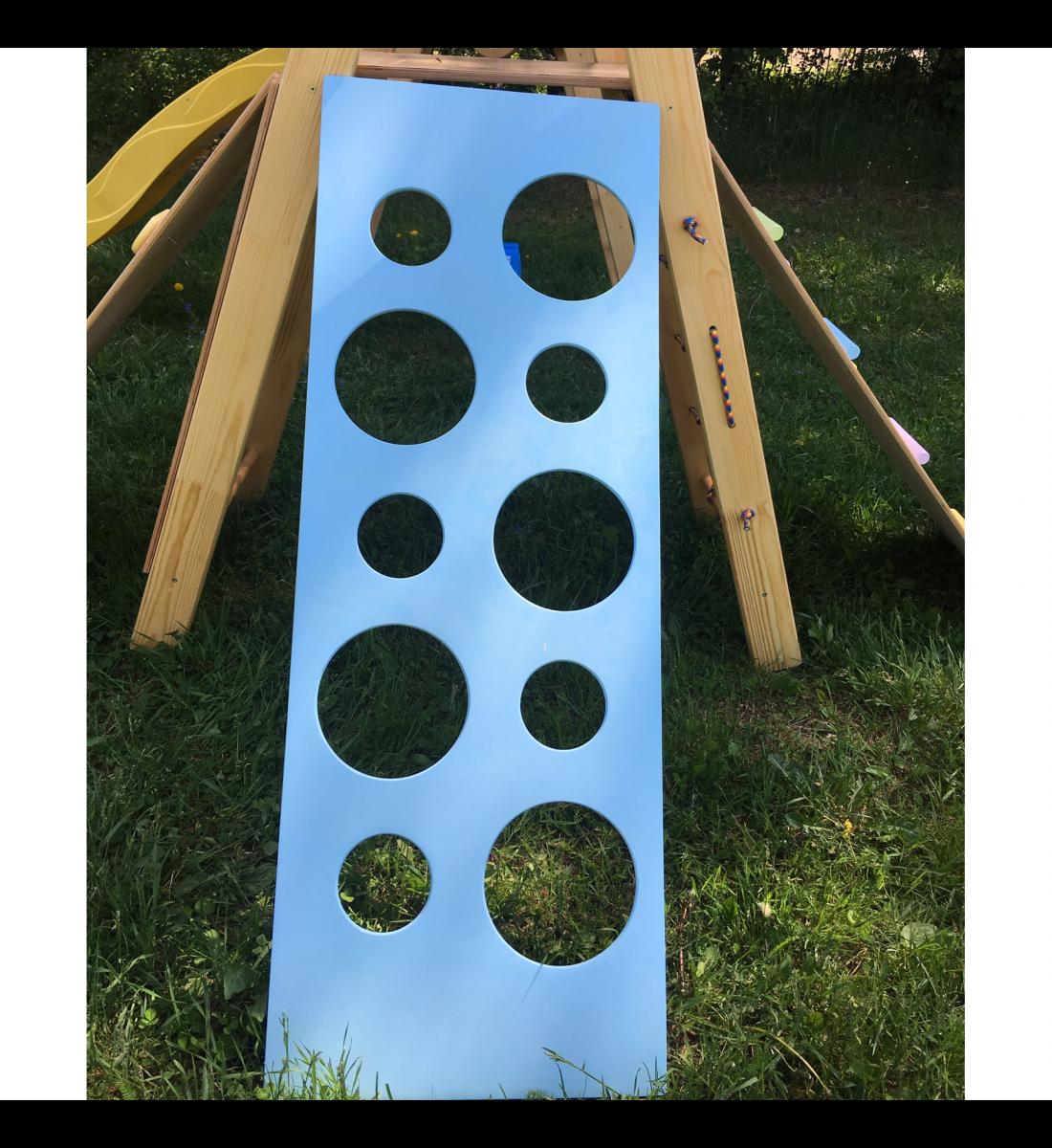 Скалодром детский навесной Крепыш (кружки)