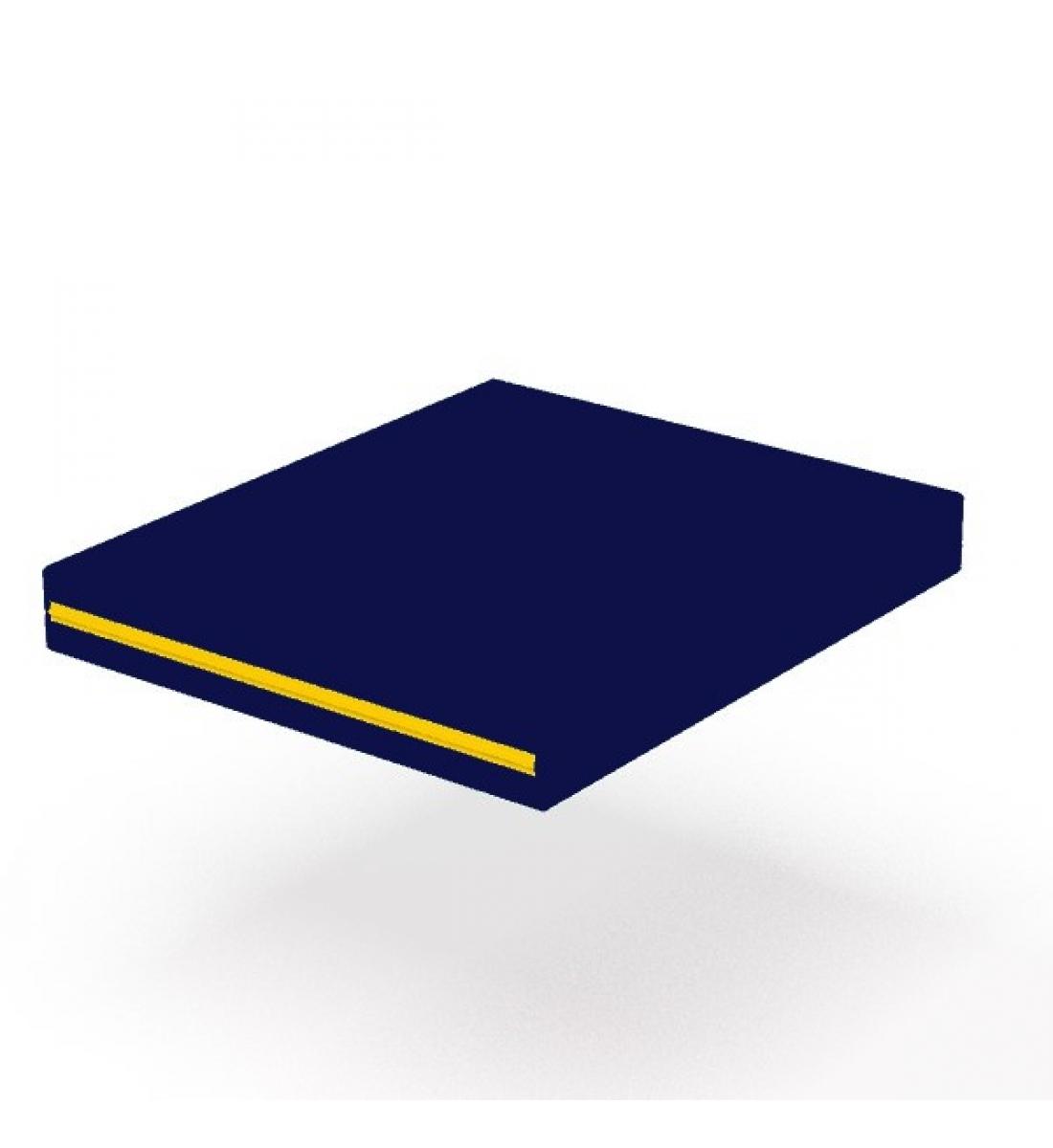 Мат гимнастический 60х70 см. (синий)