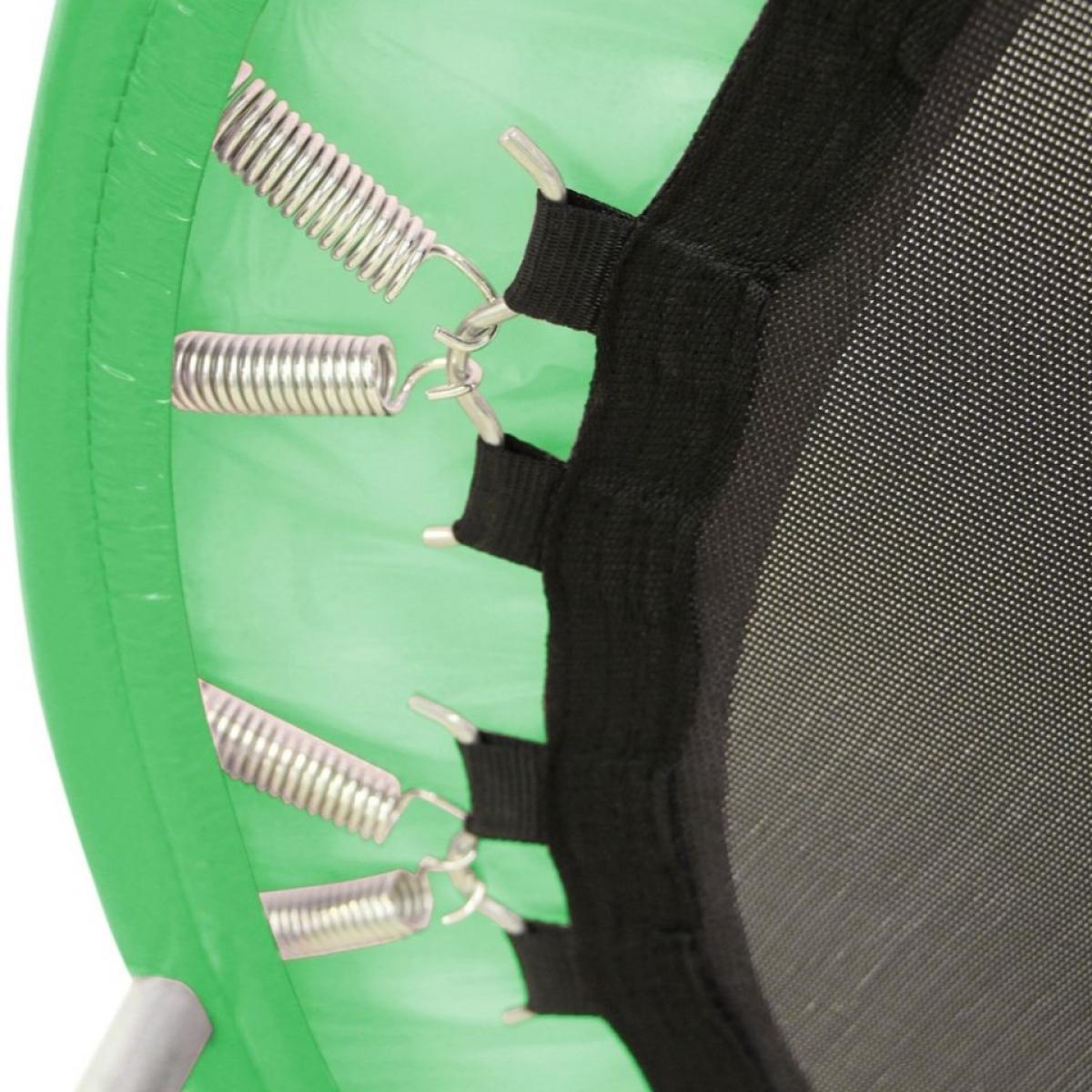 Батут мини Sundays D121 с ручкой зеленый