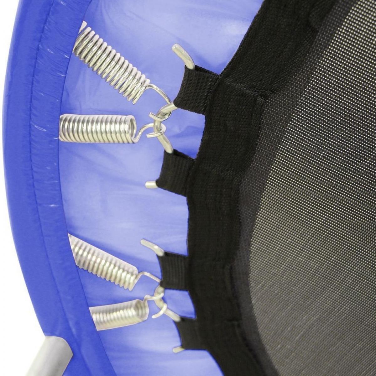 Батут мини Sundays D121 с ручкой синий