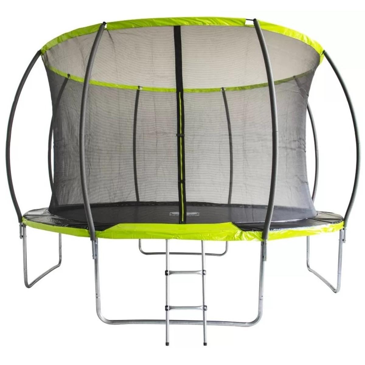 Батут Fitness Trampoline GREEN 10 FT Extreme INSIDE (3 опоры)