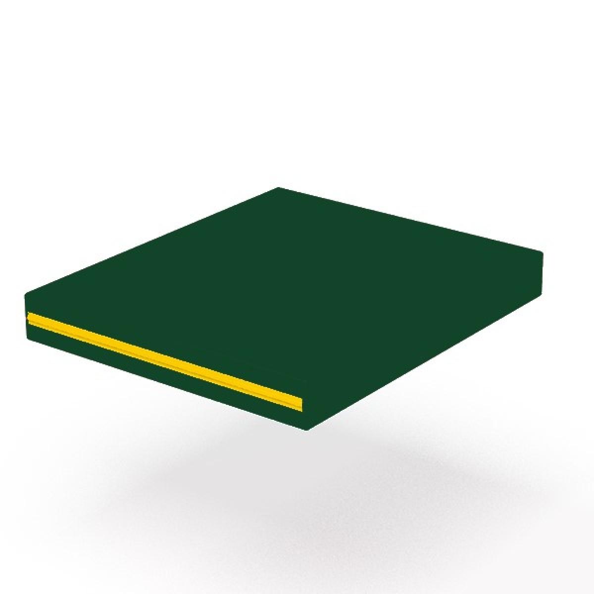 Мат гимнастический 60х70 см. (зеленый)