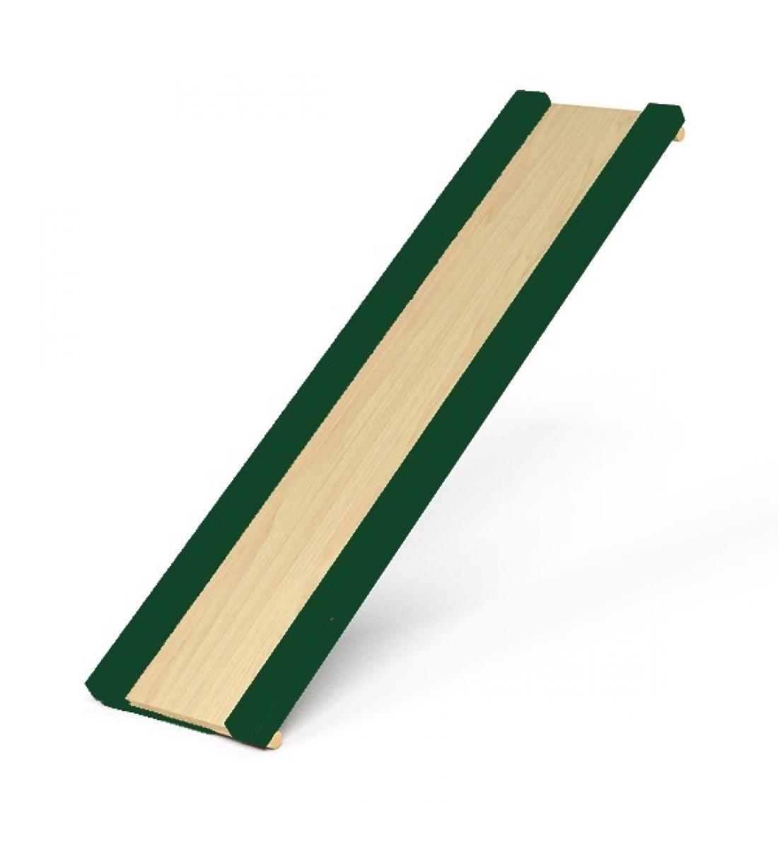Горка для шведской стенки (зеленые бортики)