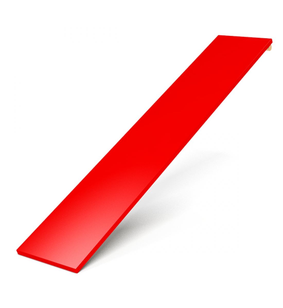 Доска для пресса (красная)