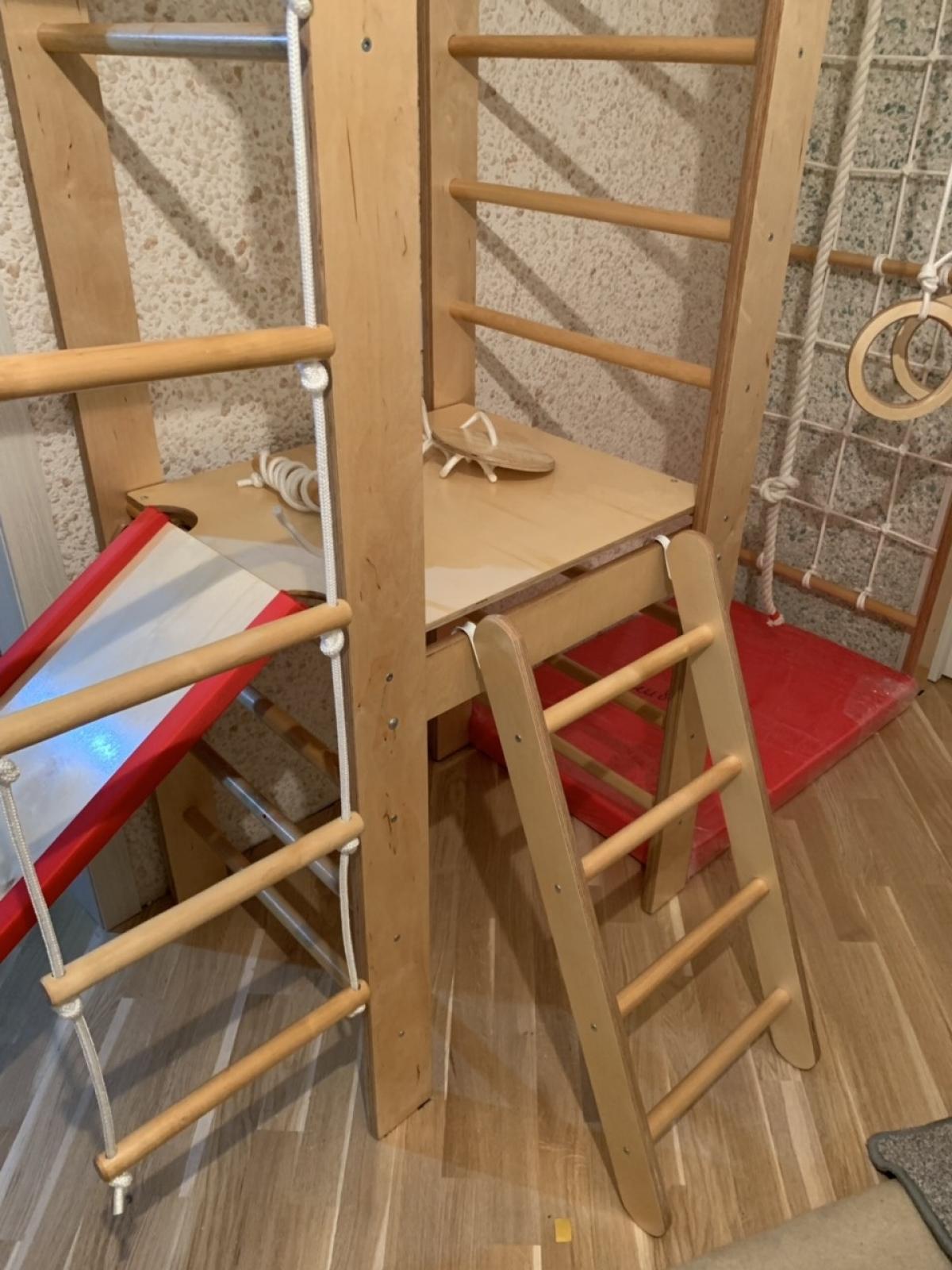 Детский спортивный комплекс Крепыш 02 Универсал (с лестницей)