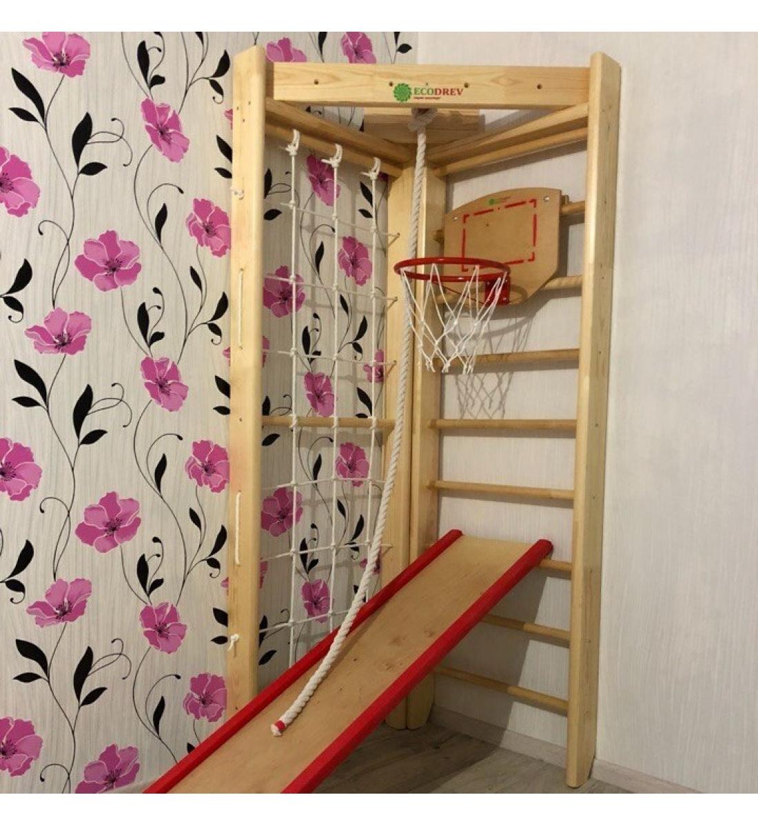 Детский спортивный комплекс Крепыш Угловой (мини)