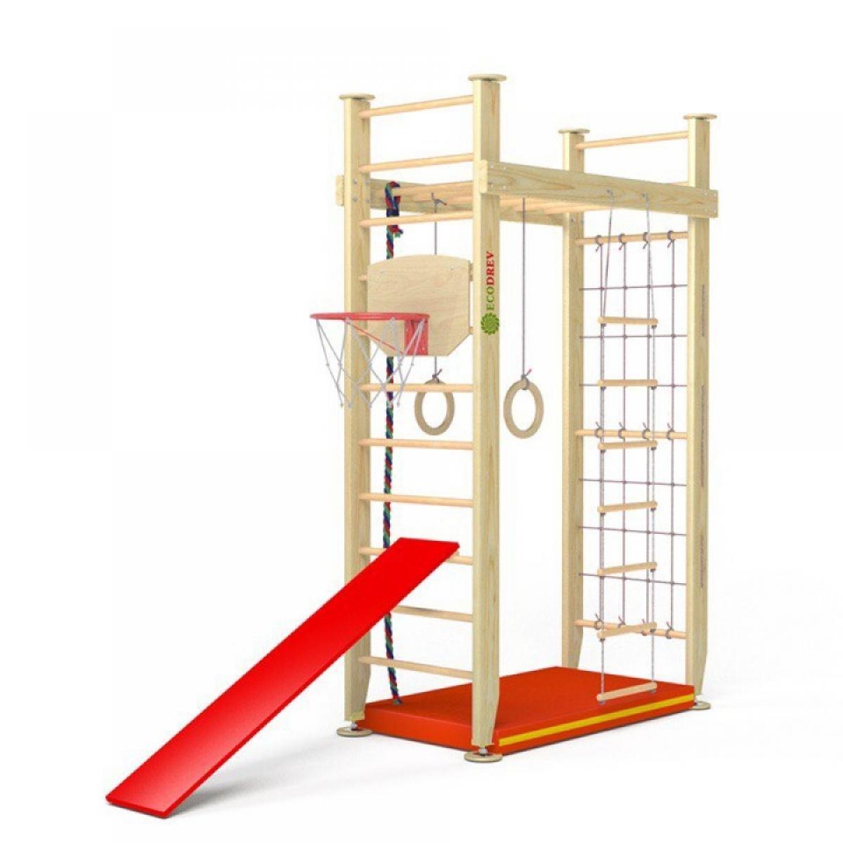 Детский игровой комплекс Крепыш П-образный без турника (враспор)