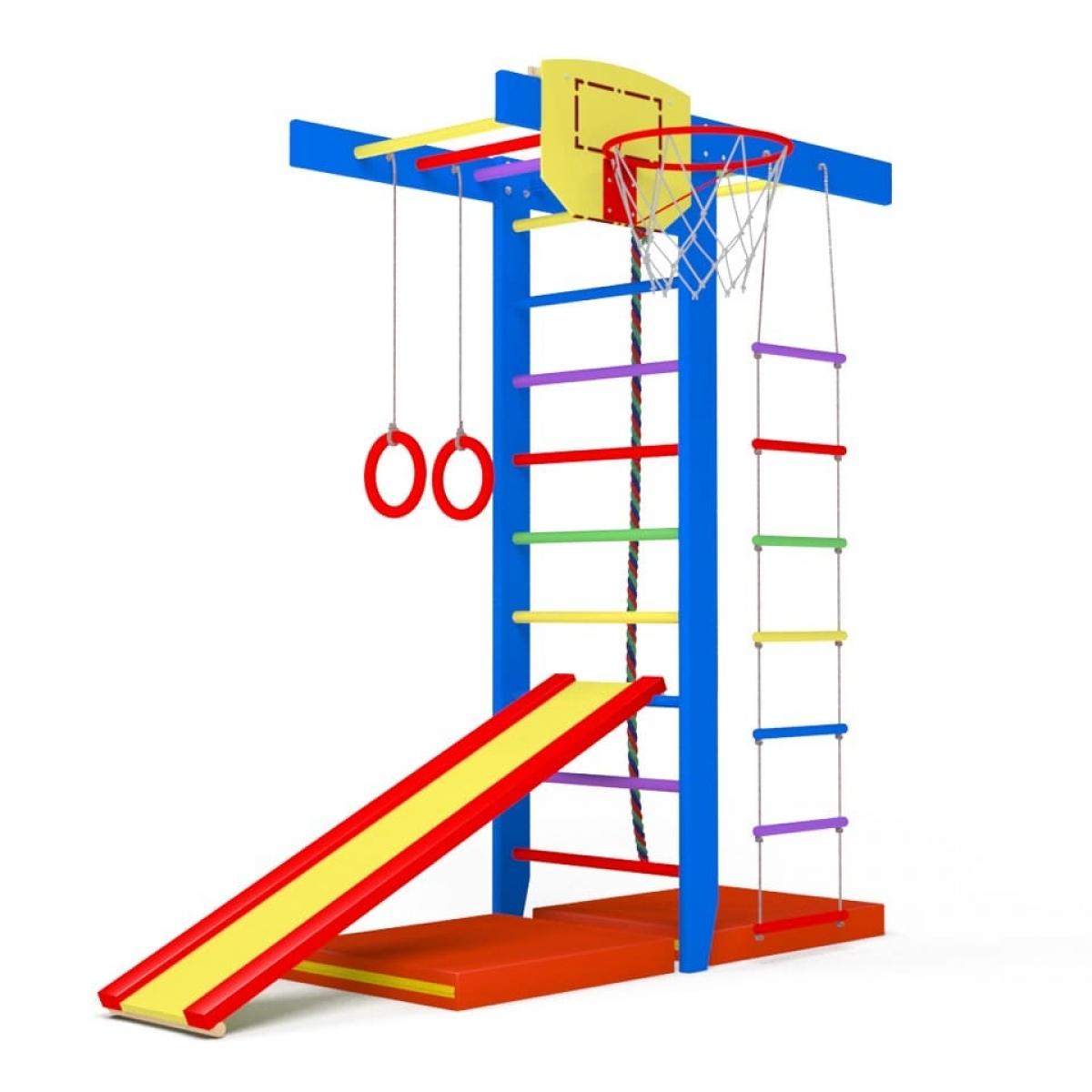 Детский спортивный комплекс Крепыш Т-образный (Салют)