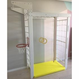Детский спортивный комплекс Крепыш 02 (лак, базовая комплектация)