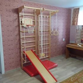 Спортивный комплекс Крепыш 03 (лак)