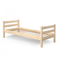 Детская (подростковая) кровать Соня без бортиков и ящиков (прозрачный лак)