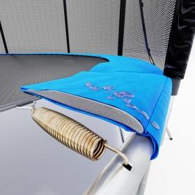 Батут Atlas Sport 252 см - 8ft BASIC с внешней сеткой и лестницей