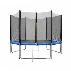Батут FunFit 312см (10ft) PRO (внешняя сетка и лестница)