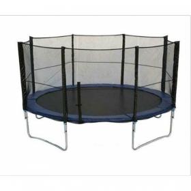 Батут Bebon sport c сеткой безопасности и лестницей, 13 футов (396 см)