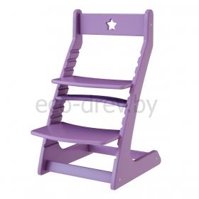 Детский растущий регулируемый стул Ростик/Rostik (фиолетовый)