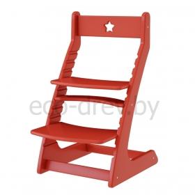 Детский растущий регулируемый стул Ростик/Rostik (красный)