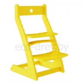 Детский растущий регулируемый стул Ростик/Rostik (желтый)