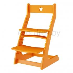Детский растущий регулируемый стул Ростик/Rostik (оранжевый)