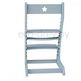 Детский растущий регулируемый стул Ростик/Rostik (серый)
