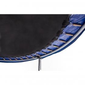 Батут Atlas Sport 374 см - 12ft PRO (усиленные опоры) с внешней сеткой и лестницей