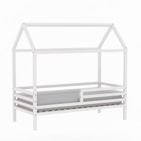 Детская (подростковая) кровать - домик TALO (Тало) (белая)