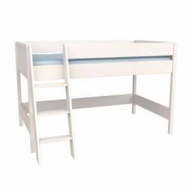 Кровать-чердак Сиело (белый)