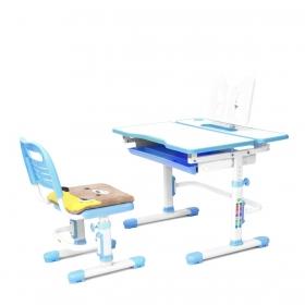 Комплект парта растущая и стул с чехлом RIFFORMA-07