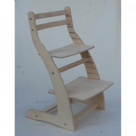 Регулируемый стул НЕКСТ из фанеры березы (цвет смок)