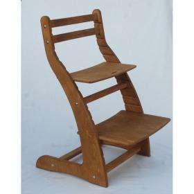 Регулируемый стул НЕКСТ из фанеры березы (цвет колониальный дуб)