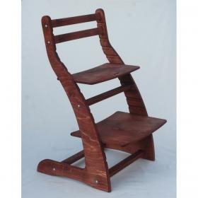 Регулируемый стул НЕКСТ из фанеры березы (цвет черри)