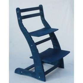 Регулируемый стул НЕКСТ из фанеры березы (цвет аквамарин)