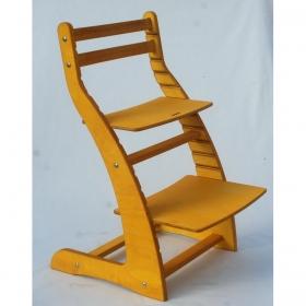 Регулируемый стул НЕКСТ из фанеры березы (цвет подсолнух)