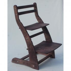 Регулируемый стул НЕКСТ из фанеры березы (цвет пурпурный верас)