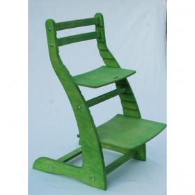 Регулируемый стул НЕКСТ из фанеры березы (цвет вегги)