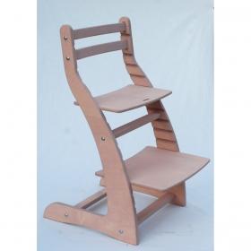 Регулируемый стул НЕКСТ из фанеры березы (цвет пурпурный роза)