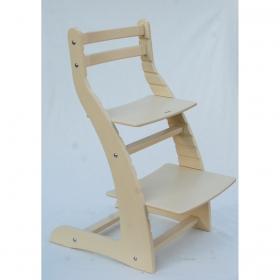 Регулируемый стул НЕКСТ из фанеры березы (цвет бежевый)