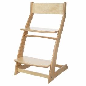 Детский регулируемый стул (растущий стул) «ВАСИЛЁК» Slim ВН-21Д  (лак)