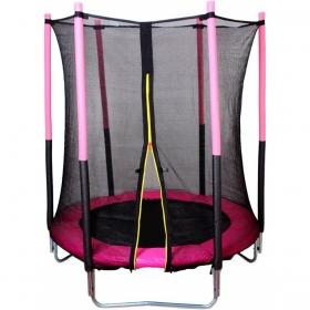 Батут Bebon sport с сеткой безопасности 4,5 фута (137см.)