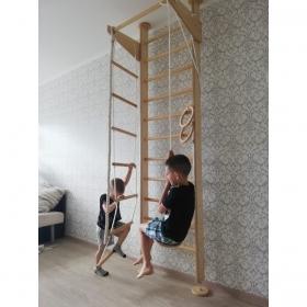 Детский спортивный уголок Крепыш 01 (враспор)