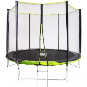 Батут Fitness Trampoline GREEN 8 FT Extreme (3 опоры) 252см.