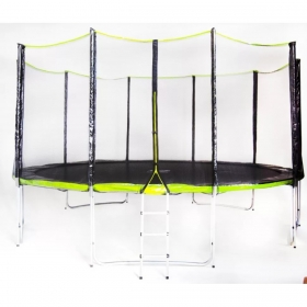 Батут Fitness Trampoline GREEN 15 FT Extreme (5 опор)
